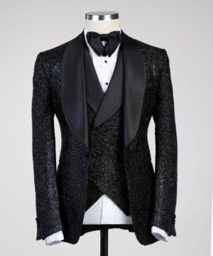Black Shimmer Tuxedo