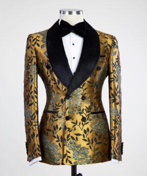 Floral Gold Tuxedo